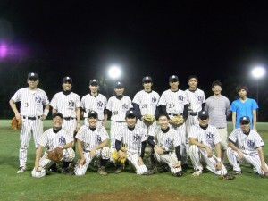 野球の集合写真